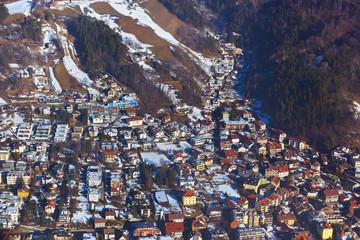 Wall Mural - Mountains ski resort - Innsbruck Austria