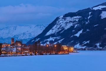 Wall Mural - Mountains ski resort Zell am See - Austria