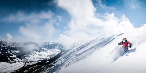 Papiers peints Glisse hiver Winter Sports in Bavaria