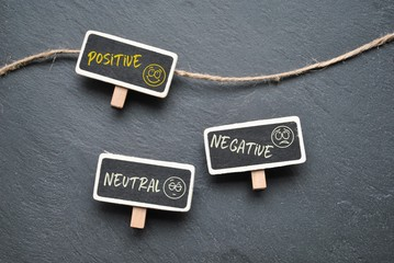 Positive - neutral - negative
