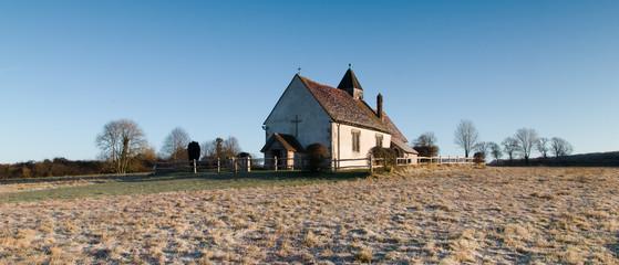 Saint Huberts Church Idsworth Hampshire UK