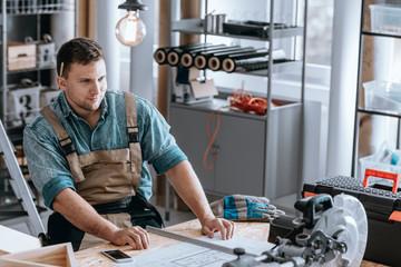 Worker proud of renovation plan