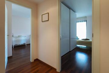 Corridor and two bedroom
