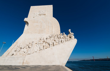 Monument of Discoveries in Lisbon Portugal