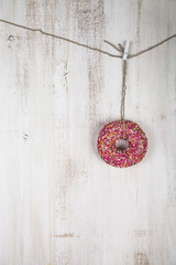 Donut on a rope
