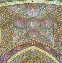 The tiled dome, Shiraz, Iran