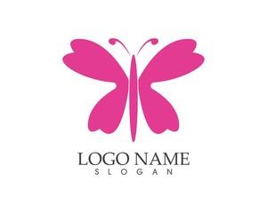 Butterfly logo design templaete