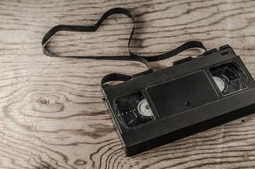 video cassettes, discs