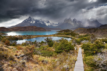 Wall Mural - Torres del Paine