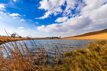 See im Dullstroom Nature Reserve; Provinz Mpumalanga; Südafrika