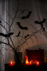 Creative decorations for Halloween indoors