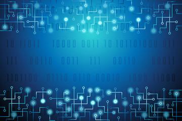 Tech Internet Background Vector Illustration 3