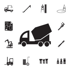 concrete mixer icon. Set of construction tools icons. Web Icons Premium quality graphic design. Signs, outline symbols collection, simple icons for websites, web design, mobile app