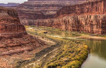 Colorado Goosneck Reflections in Autumn