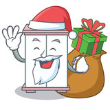 With gift cabinet character cartoon style stock image and royalty santa with gift cabinet character cartoon style negle Gallery