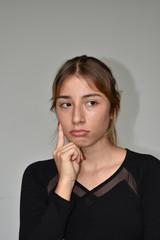 Pretty Girl Deciding