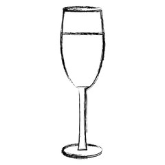 Champagne cup drink