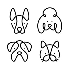 Set of pets. Vector