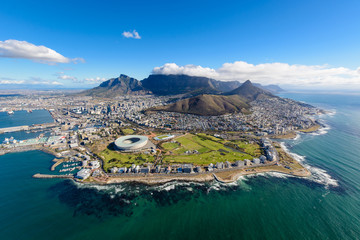 Aerial photo of Cape Town 2