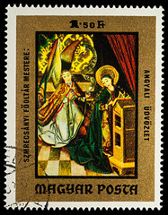 Scene from Bible - Annunciation