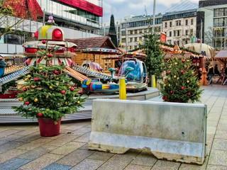 Weihnachtsmarkt, Betonsperre