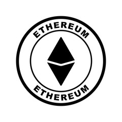 crypto currency icon (ethereum)