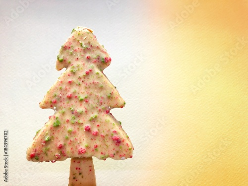 Christmas Tree Made With Ice Cream Snowman Christmas And New Year