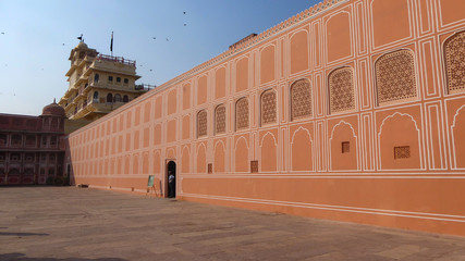 JAIPUR, INDIA, OCTOBER 19, 2017 -  Jaigarh Fort in Jaipur, India, Asia