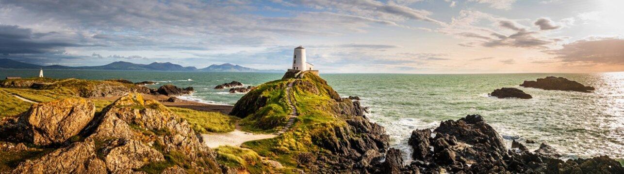 Ynys Llandwyn lighthouse Anglesey Wales