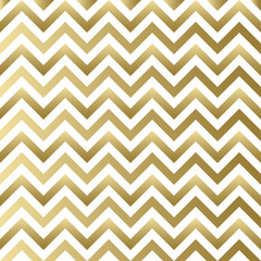 Chevron gold and white vector pattern