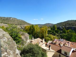 Palomera en Cuenca. Pueblo de Castilla la Mancha (España)