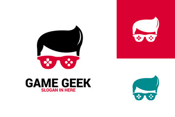 Game Geek Logo Template Design
