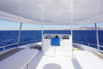 cabin of yacht