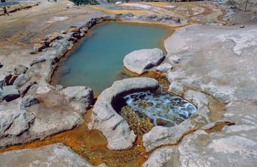 Schwefelquellen Paso del Inca 1966