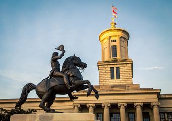 Aluminium Prints Historic monument Andrew Jackson Statue Nashville