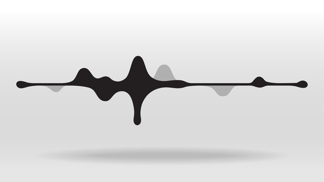 Gummy speaking sound wave