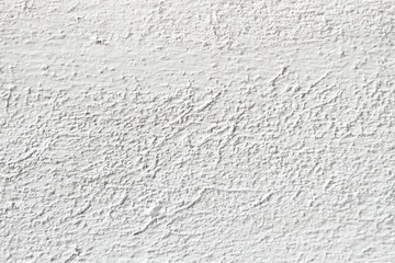 Macro closeup of white wall with roughness