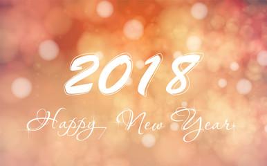 New Year Xmas background, light, stars Vector Illustration easy color editable