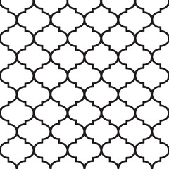 Moroccan vector pattern. Hamptons style.