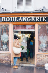 At the boulangerie