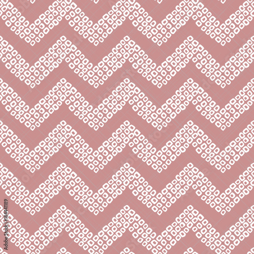 Shibori motif  Pink colored seamless pattern  Stylised asian
