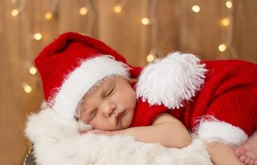 newborn santa claus