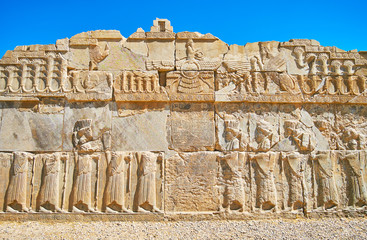 Art in Persepolis, Iran