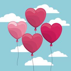 Happy valentines day icon vector illustration graphic design
