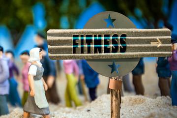 Schild 310 - Fitness