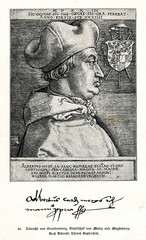 Albrecht of Brandenburg, Archbishop of Mainz and Magdeburg(from Spamers Illustrierte Weltgeschichte, 1894, 5[1], 200)