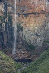 Tabuleiro Waterfall in Serra do Intendente State Park, Minas Gerais, Brazil
