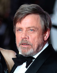 Actor Mark Hamill poses for photographers as he arrives for the European Premiere of 'Star Wars: The Last Jedi', at the Royal Albert Hall in central London