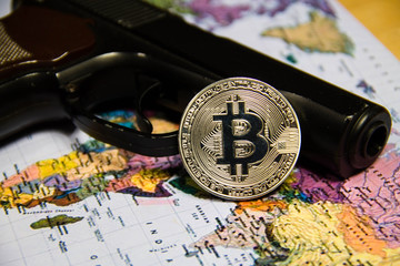 Buying a weapon with bitcoin