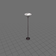 Living room floor lamp